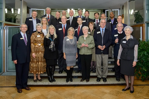 Above photo: Recent inductees to the Quarter Century Club at UBC