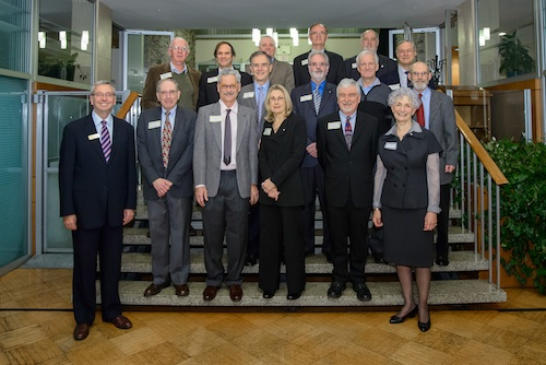 Above photo: Recent inductees to the Tempus Fugit at UBC