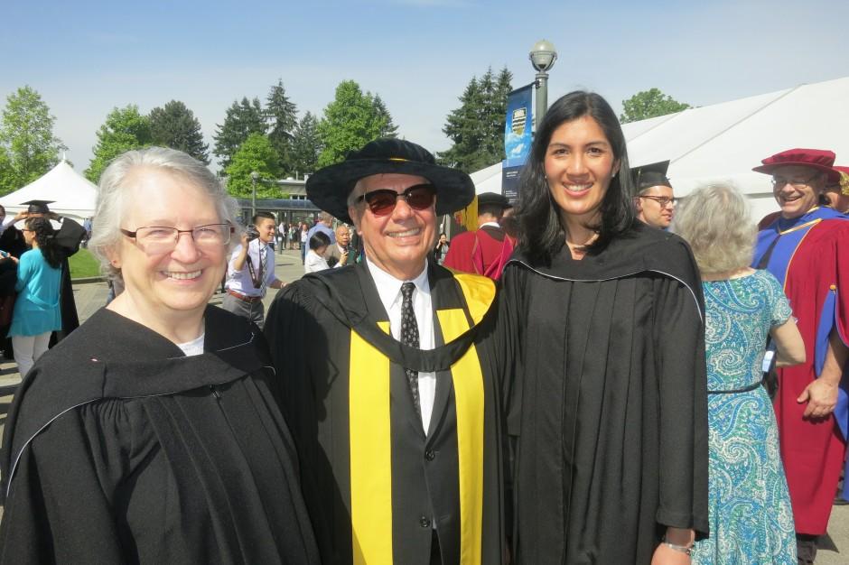 Volunteers at the 2014 Spring Graduation