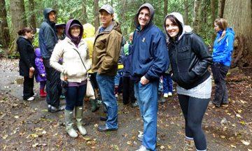 Photo: WKTEP students at Kokanee Creek.
