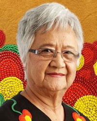 Verna J. Kirkness, LL.D., Associate Professor Emerita, UBC; Past Director UBC First Nations House of Learning