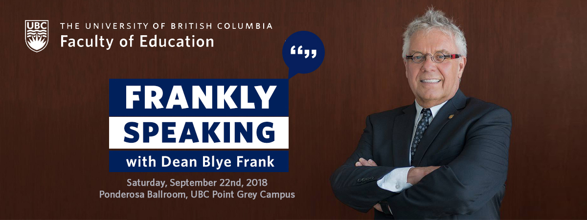 Frankly Speaking 2018
