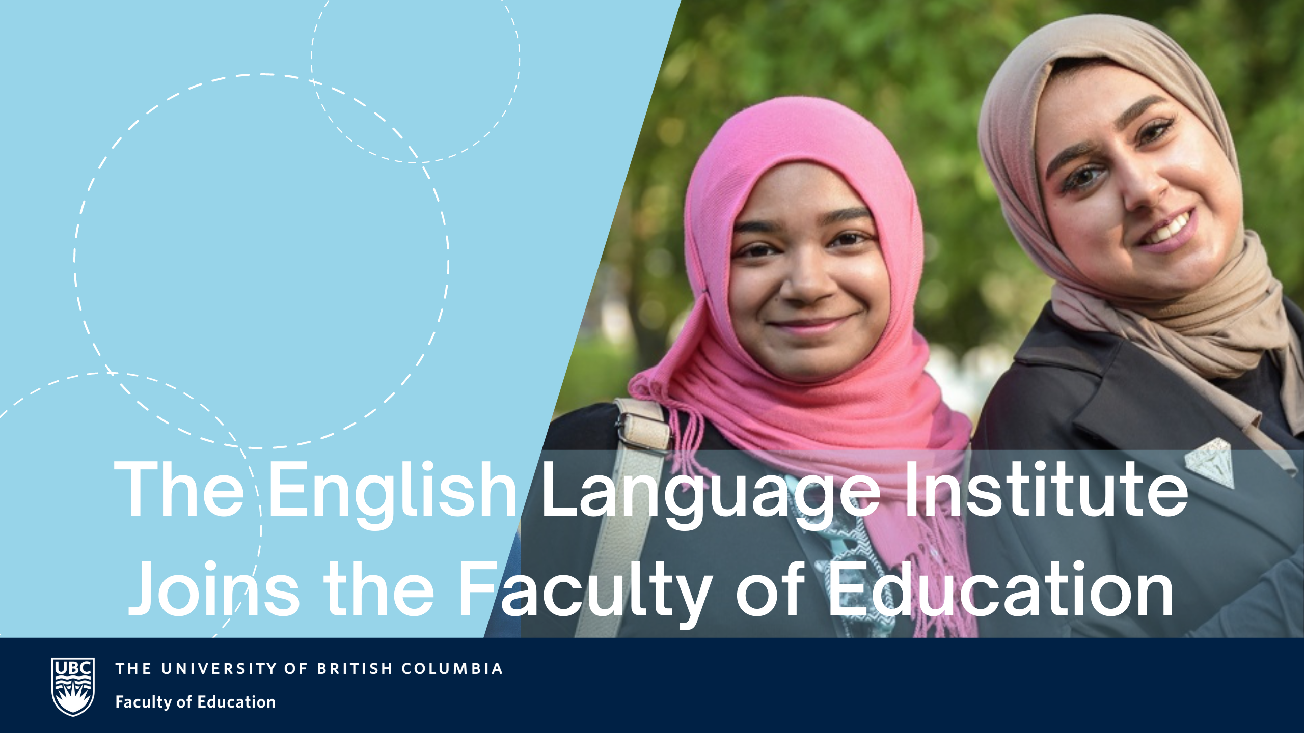 The ELI Joins the Faculty of Education